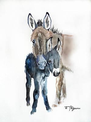 Mummy Donkey Poster