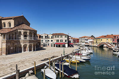 Murano Italy Poster by John Greim