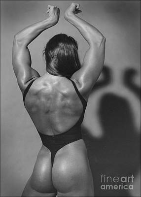 Muscle Woman Poster by Peter Lerman