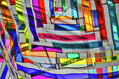 Museum Atrium Art Abstract Poster
