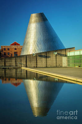 Museum Of Glass Tower Poster