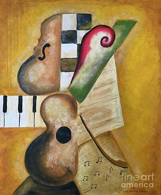 Music Abstract  Poster