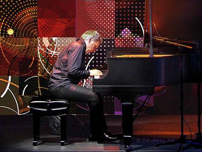 Music - Piano Jazz Improvisation Player Poster by Arthur Babiarz