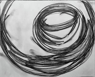 Music Sketch Study Leon Bridges Poster by Brenda Pressnall