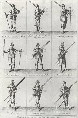 Musketeer Manual Poster by Frederick Holiday