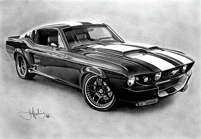 Mustang Gt-350 Poster by John Harding
