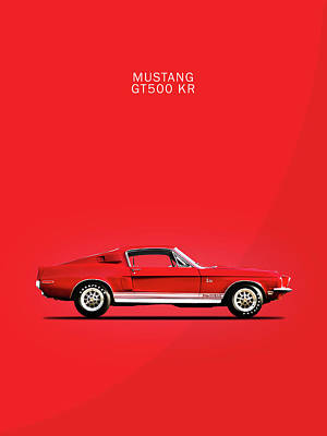 Mustang Shelby Gt500 Kr Poster