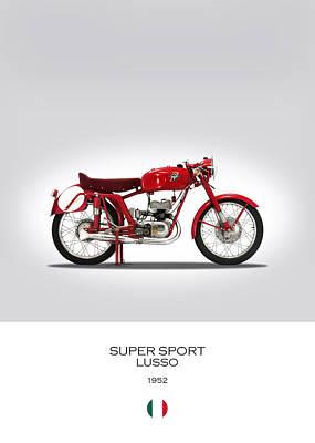 Mv Agusta Super Sport Lusso Poster