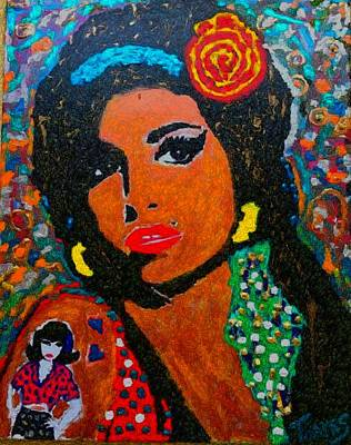 My Amy Winehouse Poster by Christopher Thames