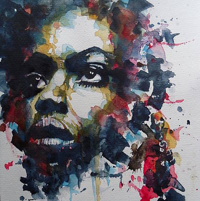 My Baby Just Cares For Me  Poster by Paul Lovering