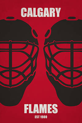 My Calgary Flames Poster by Joe Hamilton