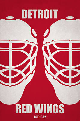 My Detroit Red Wings Poster by Joe Hamilton
