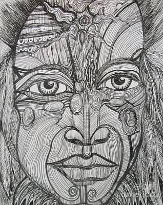 My Eyes Speak The Truth Poster by Anita Wexler