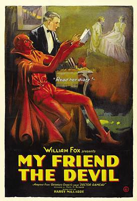 My Friend The Devil 1922 Poster