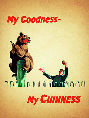 My Goodness My Guinness 2 Poster by Mark Rogan