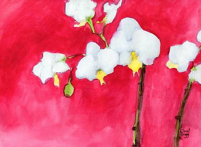 My Little Orchid Poster by Janel Bragg