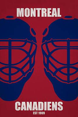 My Montreal Canadiens Poster by Joe Hamilton