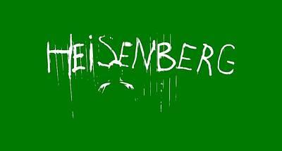 My Name Is Heisenberg - Graffiti Spray Paint Breaking Bad - Walter White - Breaking Bad - Amc Poster