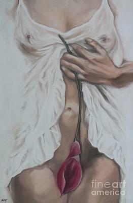 My Pretty Pink Flower Poster