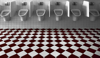 My Private Toilet... Poster by Gilbert Claes