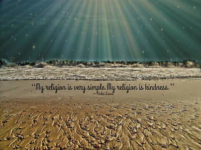 My Religion Poster by Trish Tritz