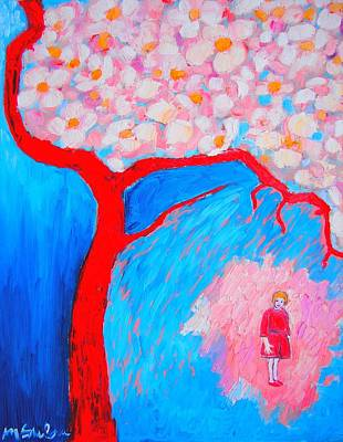 Poster featuring the painting My Spring by Ana Maria Edulescu