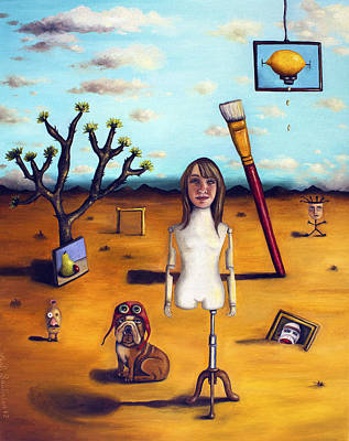 My Surreal Life Poster by Leah Saulnier The Painting Maniac