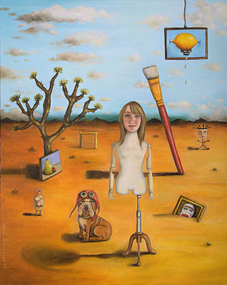 My Surreal Life Pro Photo Poster by Leah Saulnier The Painting Maniac