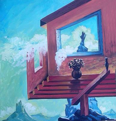 My Weird House Poster by Joe Santana