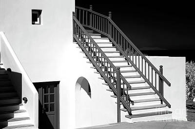 Mykonos Style Infrared Poster by John Rizzuto