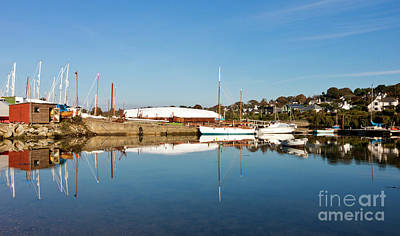 Mylor Boat Yard Panorama Poster