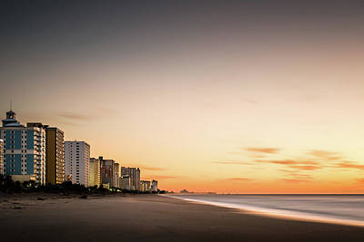 Myrtle Beach Sunrise Poster by Ivo Kerssemakers