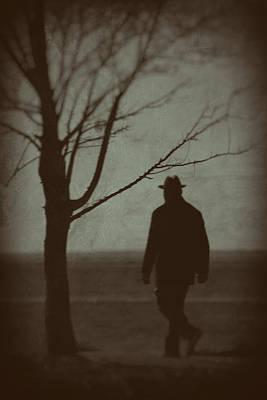Mystery Man Poster by Karol Livote