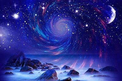 Mystic Lights Poster
