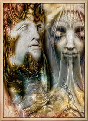 Mystic Lovers  Poster by Daniel Arrhakis