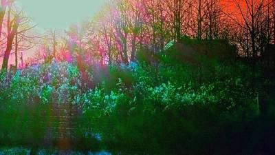 Mystic Meadow Poster by Erin Brady