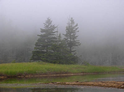 Mystical Acadia National Park Poster