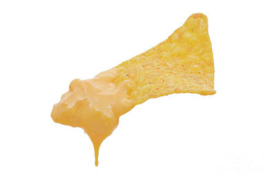 Nacho With Cheese Dip Poster