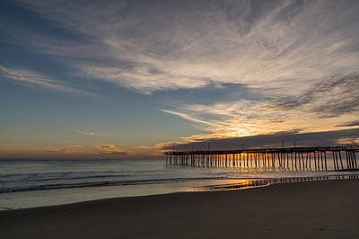 Nags Head Sunrise Poster