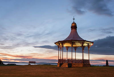 Nairn Bandstand At Dawn Poster