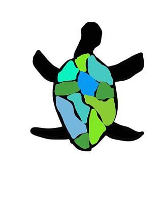 Nali Turtle 2 Poster by Heather Joyce Morrill