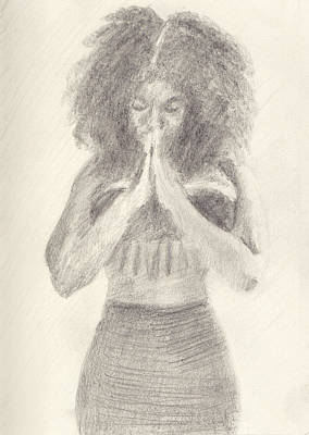 Namaste Poster by Robert Alexander