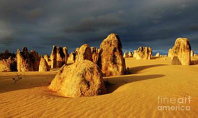 Nambung Desert Australia 12 Poster by Bob Christopher