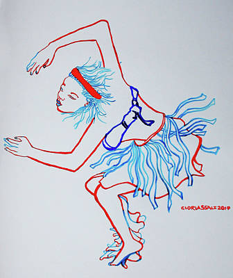 Namibian Traditional Dance Poster