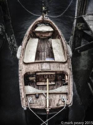 Nantucket Boat Poster
