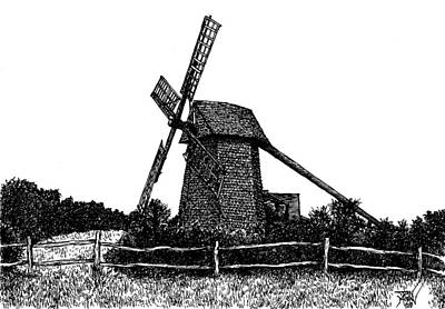 Nantucket Windmill Number Two Poster