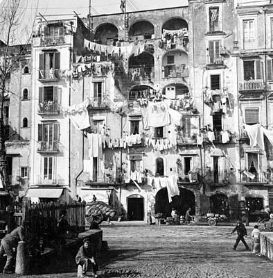 Naples Italy - C 1901 Poster