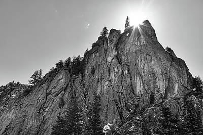 Poster featuring the photograph Narrows Pinnacle Boulder Canyon by James BO Insogna