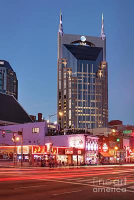 Poster featuring the photograph Nashville - Batman Building by Brian Jannsen