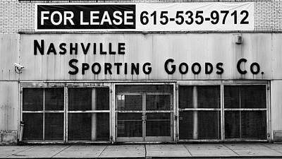 Nashville Sporting Goods Poster by Stephen Stookey